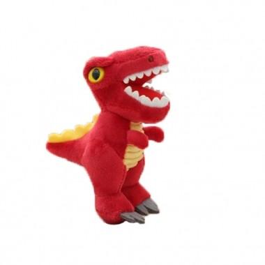 Брелок Тиранозавр красный (кигуруми)