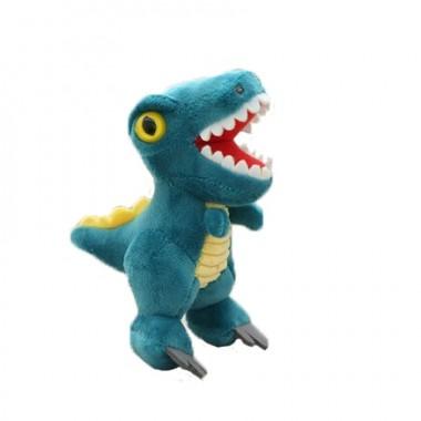 Брелок Тиранозавр голубой (кигуруми)