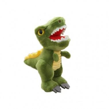 Брелок Тиранозавр салатовый (кигуруми)